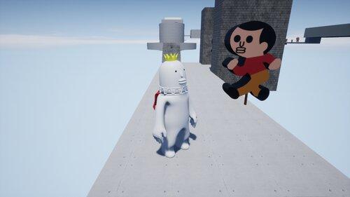 王子のラン Game Screen Shot1