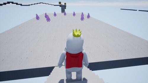 王子のラン Game Screen Shot4