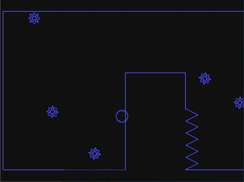 LINE BALL STYLISH Game Screen Shot1