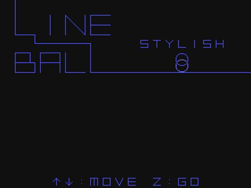 LINE BALL STYLISH Game Screen Shots