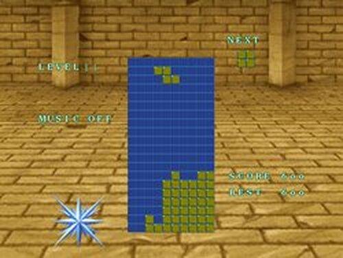 テトリス-雷 Game Screen Shots