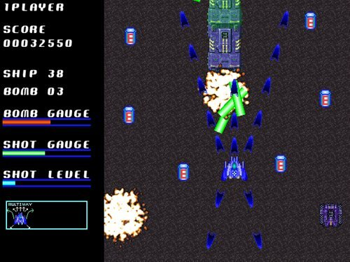 BLUE STAR SAGA Game Screen Shot