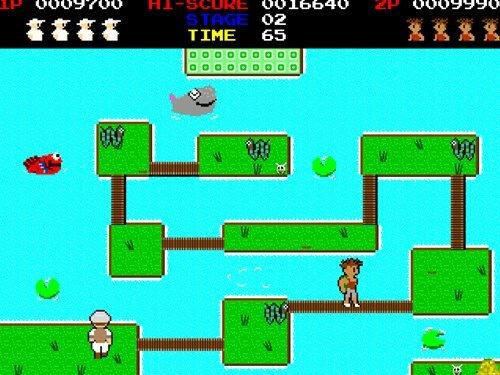 コンゴボンチ Game Screen Shot1