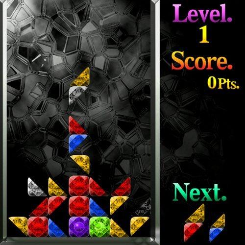 サンカク▲クリスタル Game Screen Shot1