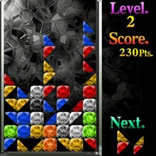 サンカク▲クリスタル Game Screen Shots