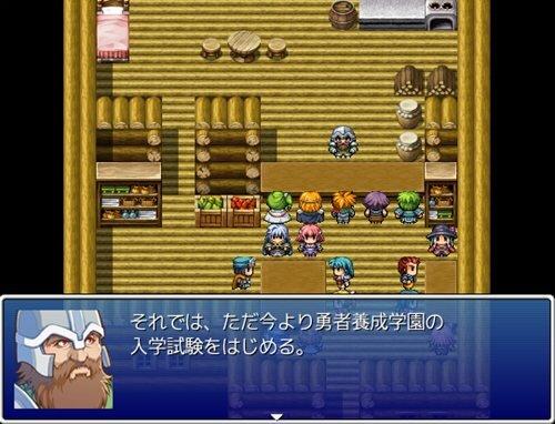 4人の勇者 Game Screen Shot1