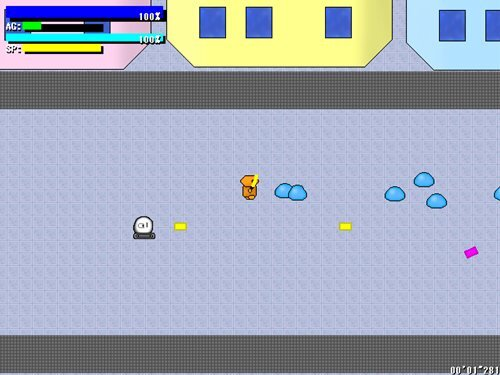 Shot&Sword Game Screen Shot1
