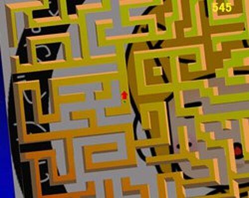 Run! Run! Labyrinth! Game Screen Shots