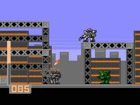 アーマードウォーリア Game Screen Shot3