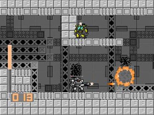 アーマードウォーリア Game Screen Shot5