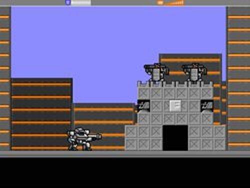 アーマードウォーリア Game Screen Shots