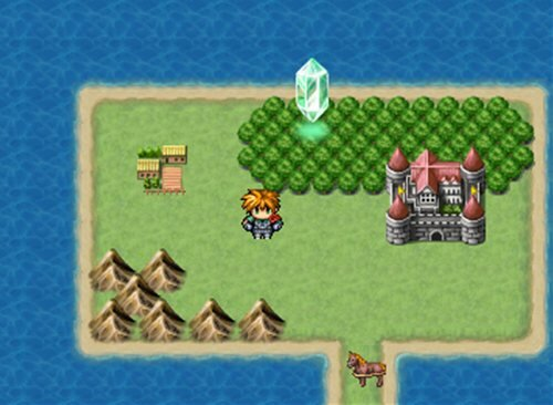 勇者と不思議な鍵 Game Screen Shot1