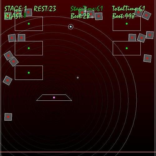 Radical Breakout Game Screen Shot