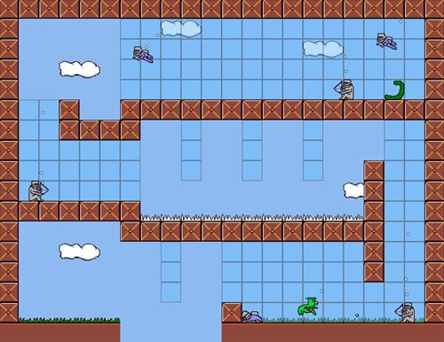 かっぱ男 Game Screen Shot1