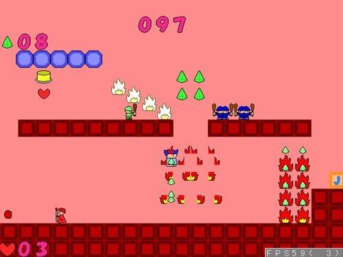 ヤシーユの普通のアクション Game Screen Shot1