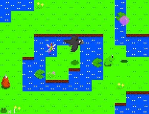 かえると妖精の玉 番外編 -赤つの来襲-  Game Screen Shot