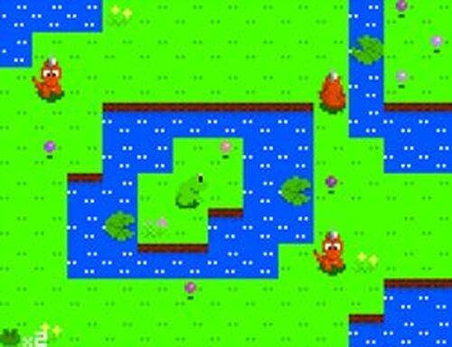 かえると妖精の玉 番外編 -赤つの来襲-  Game Screen Shots