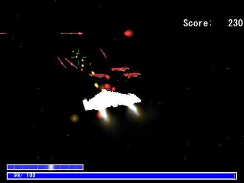 3Dシューティング Game Screen Shot