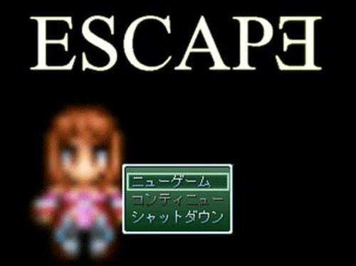 ESCAPE Game Screen Shots