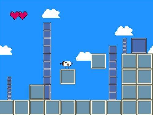 人生オワタのアクションゲーム Game Screen Shot1