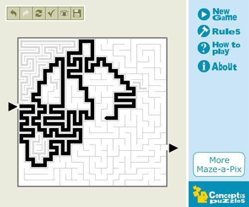 めいろパズルLight Vol.1 Game Screen Shot1