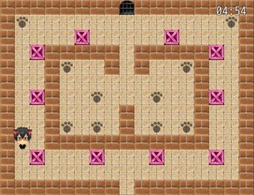 猫田くんの倉庫番 Game Screen Shot5