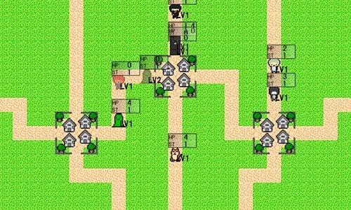 伝説の村 Game Screen Shot1