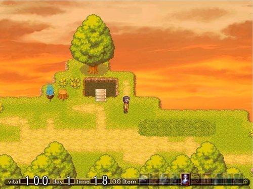 夢魔と眠れる魔女の夢 Game Screen Shot1
