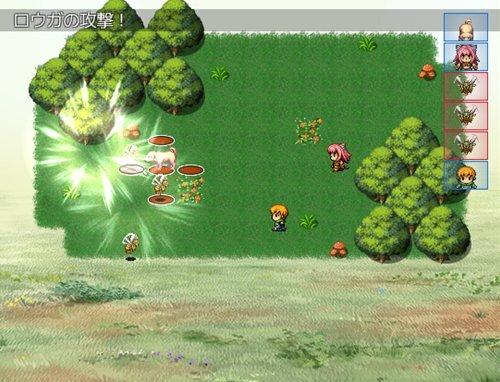 ローベリアの賢者 Game Screen Shot1