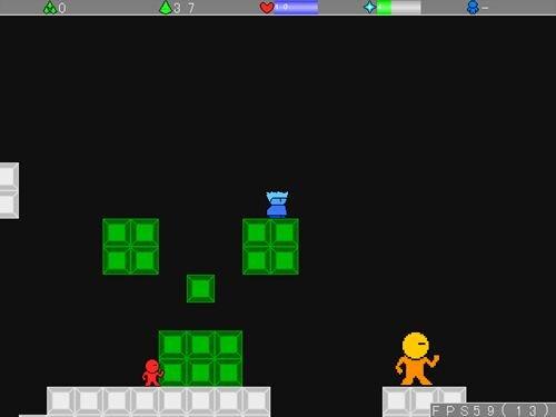 ブルーヤシーユワールド Game Screen Shot