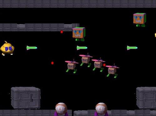 うんちゃまジェット Game Screen Shot1