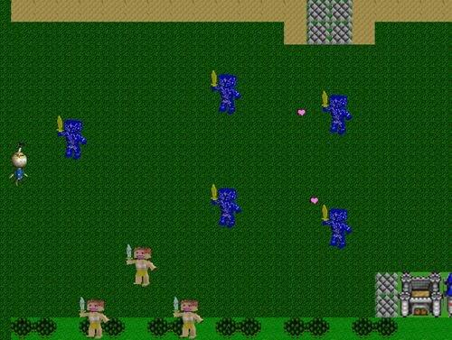 女人島の魔像 Game Screen Shot1