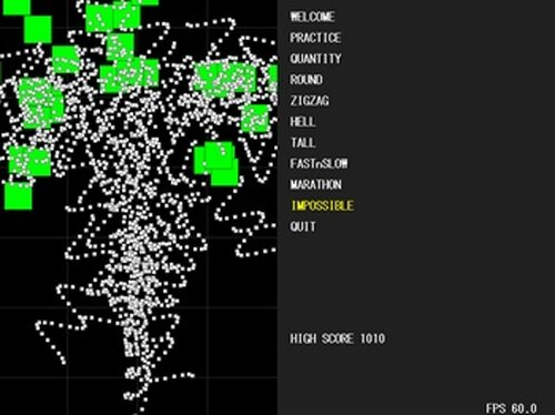 Bullet Hell Game Screen Shot2