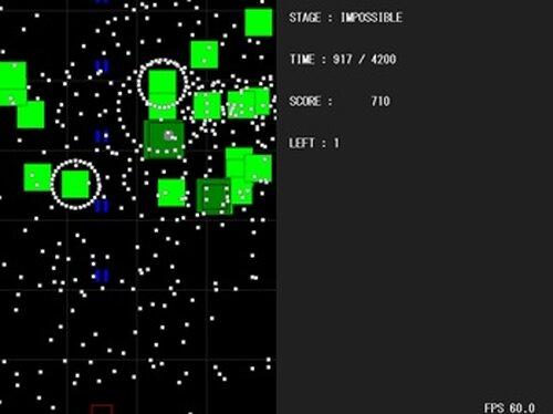 Bullet Hell Game Screen Shots