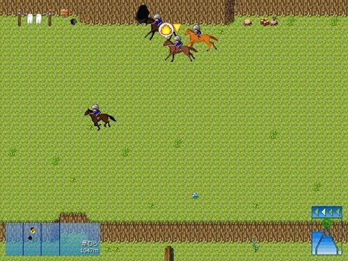 競馬大戦β版 Game Screen Shot1
