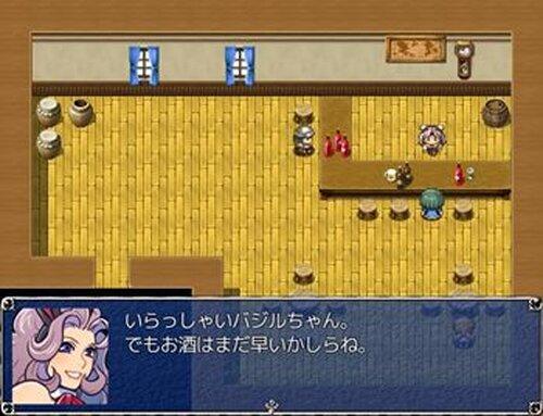 バジルの1日 Game Screen Shot4