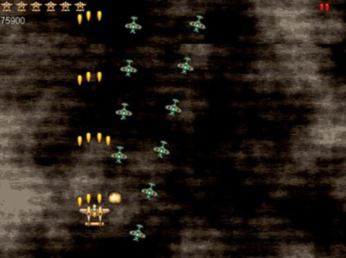 1945 the Bullet Hell Shooting Game Screen Shot2