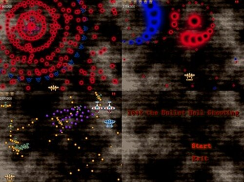 1945 the Bullet Hell Shooting Game Screen Shots