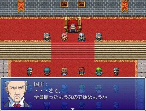 魔族とやとわれ兵士 Game Screen Shot1