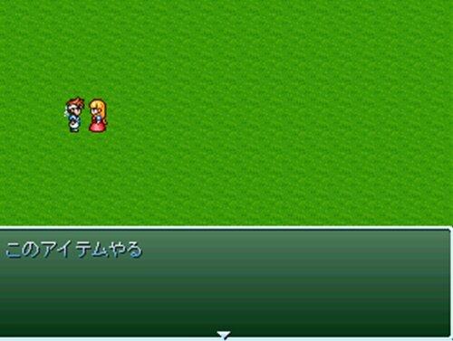 アイテム使用8択メニューサンプル Game Screen Shot