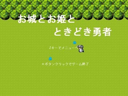お城とお姫とときどき勇者 Game Screen Shot2
