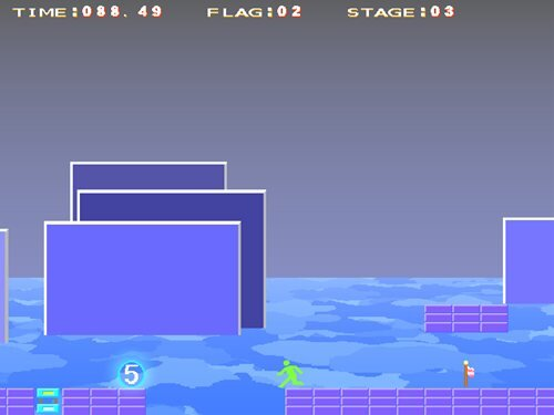 RUSH OUT 8~秘められた非常口の野望~ Game Screen Shot2