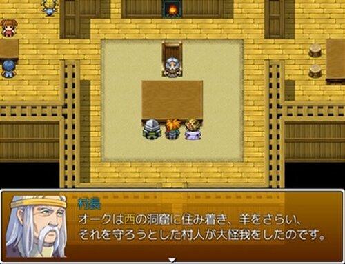 熱き冒険者たちの物語 Game Screen Shot4