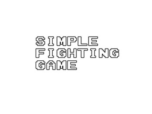 SimpleFightingGame Game Screen Shot2
