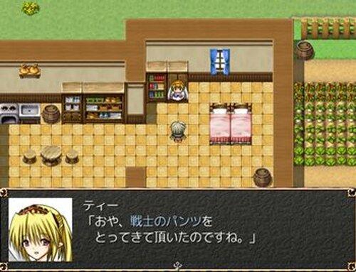 パンツァークエスト Game Screen Shot4