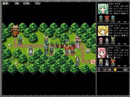 ニュースレ・ディフェンス! Game Screen Shots