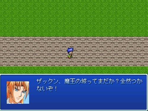 ザックンの冒険 Game Screen Shot1
