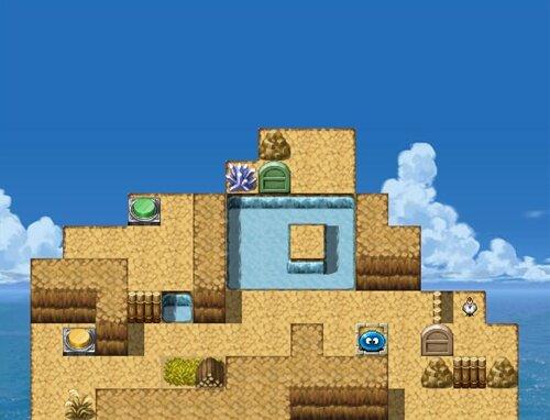 スラリンのパズルで冒険VX 0 Game Screen Shot1
