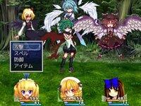 三月精復讐録のゲーム画面