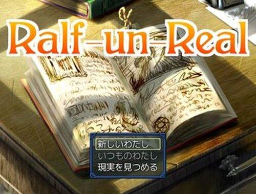 Ralf-un-Real Game Screen Shot2